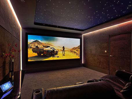 умный домашний кинотеатр — управление