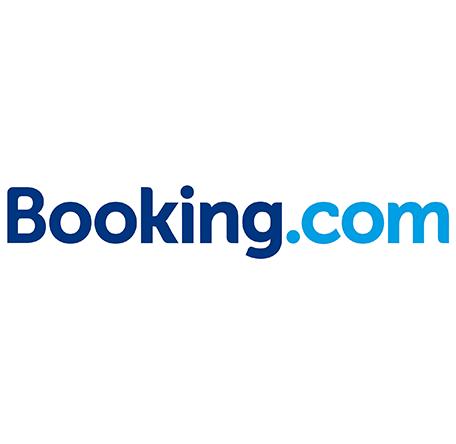 логотип booking com